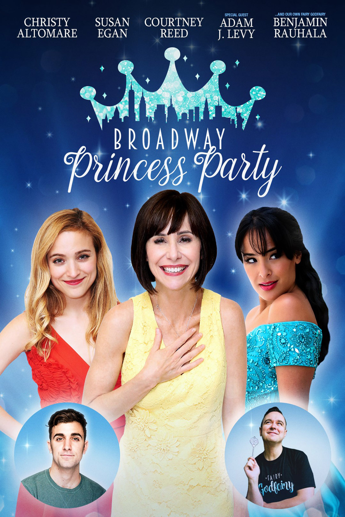 Cast of Broadway Princess Party
